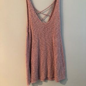 Knitted American Eagle tank top